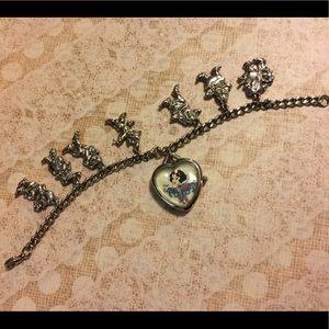 Rare Disney Snow White Silver Watch
